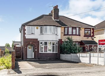 Thumbnail 3 bed semi-detached house for sale in Throne Crescent, Rowley Regis