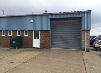 Thumbnail Light industrial to let in The Vanguards, Vanguard Way, Shoeburyness, Southend, Essex
