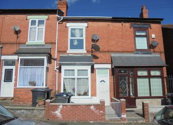 Thumbnail 3 bed terraced house for sale in Nansen Road, Sparkhill