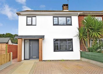 Thumbnail 3 bed semi-detached house for sale in Manston Road, Ramsgate, Kent