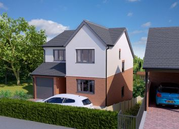 Thumbnail 4 bed detached house for sale in School Lane, Southsea, Wrexham