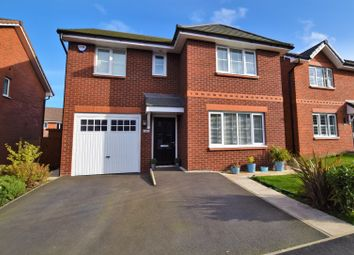 Thumbnail 4 bed detached house for sale in Ash Road, Sychdyn, Mold