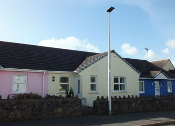 Thumbnail 2 bed terraced bungalow for sale in South Road, Pembroke, Pembrokeshire