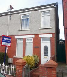 Thumbnail 3 bed end terrace house for sale in Heol Fach, North Cornelly, North Cornelly