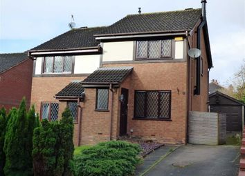 Thumbnail 2 bed semi-detached house for sale in Coppice Grove, Longton, Stoke-On-Trent