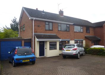 Thumbnail 3 bed semi-detached house for sale in Lismore Drive, Hinckley