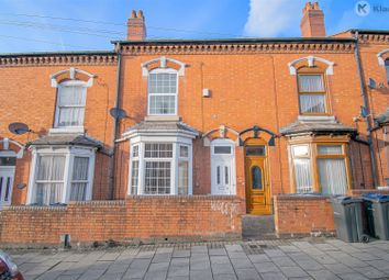 3 bed terraced house for sale in Wilton Road, Sparkhill, Birmingham B11