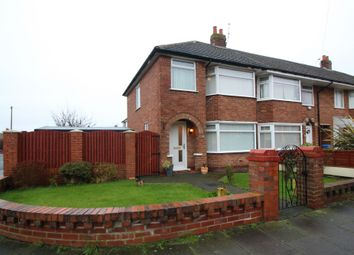 Thumbnail 3 bed end terrace house for sale in Crofton Avenue, Blackpool