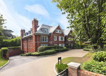 Thumbnail 3 bed flat for sale in Gower House, Gower Road, Weybridge, Surrey
