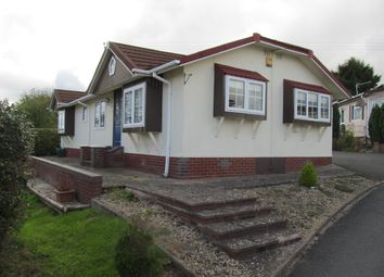 Thumbnail 2 bed mobile/park home for sale in Doddington Heights, Earls Ditton Lane, Hopton Wafers, Kidderminster, Shropshire
