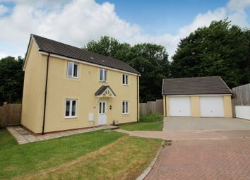 Thumbnail 4 bed detached house for sale in Cundy Close, Plympton, Plymouth