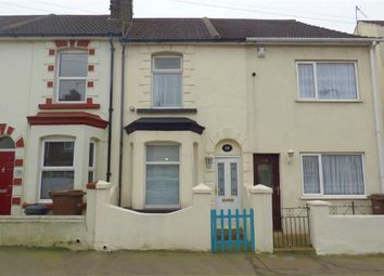 Thumbnail 2 bed terraced house for sale in Seaview Road, Gillingham