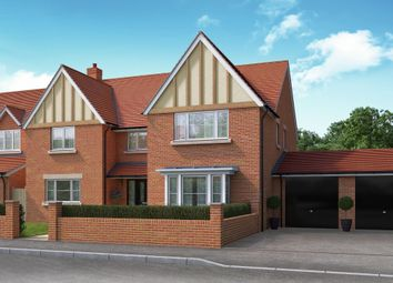 "Thumbnail 5 bed detached house for sale in ""The Kingston"" at Bromham Road, Bedford"