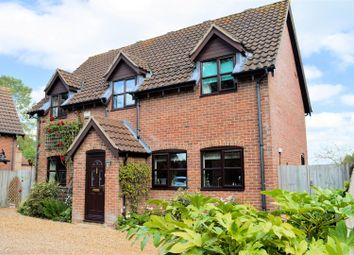 Thumbnail 4 bed detached house for sale in Mill Road, Watlington, King's Lynn
