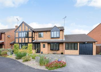 Thumbnail 5 bed detached house for sale in Barbourne Close, Solihull