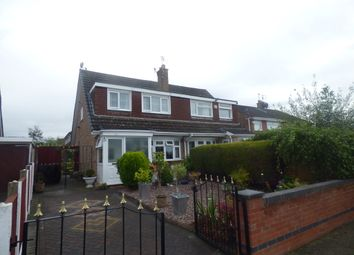 Thumbnail 3 bed semi-detached house for sale in Churton Avenue, Prenton