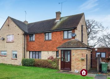 Thumbnail 3 bed semi-detached house for sale in North Side, The Cardinals, Tongham, Farnham
