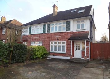 Thumbnail 4 bed semi-detached house to rent in Draycott Avenue, Kenton, Harrow