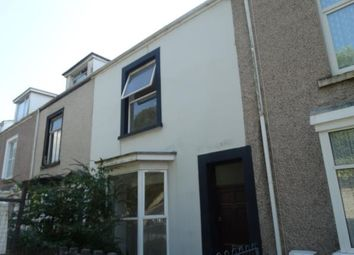 Thumbnail 1 bed terraced house to rent in Carlton Terrace, Swansea