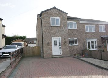 Thumbnail 3 bed semi-detached house for sale in Greenfield Garth, Kippax, Leeds