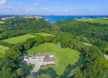 Thumbnail 4 bed detached bungalow for sale in Carlidnack Lane, Mawnan Smith, Falmouth