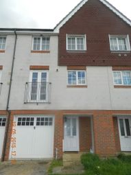 Thumbnail 4 bed terraced house to rent in Waterside Close, Thamesmead, London, Greater London