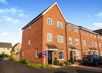 Thumbnail 4 bed end terrace house for sale in Blackberry Way, Swaffham