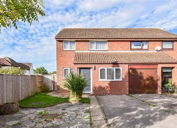 Thumbnail 3 bed semi-detached house for sale in Olivers Meadow, Westergate, Chichester
