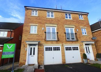 Thumbnail 3 bed town house to rent in Annand Way, Newton Aycliffe
