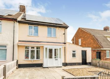 Thumbnail 2 bed semi-detached house for sale in Renvyle Avenue, Stockton-On-Tees