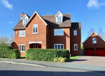 Thumbnail 6 bed detached house for sale in Redbourne Drive, Weston, Crewe, Cheshire