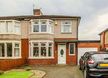 Thumbnail 3 bed semi-detached house for sale in Queens Road West, Accrington, Lancashire