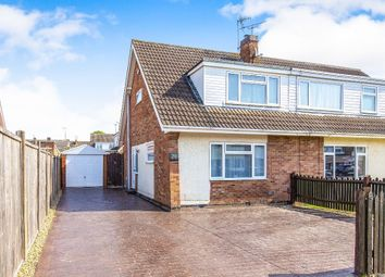 Thumbnail 3 bed semi-detached house to rent in Oakleigh Close, Raunds