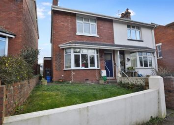 Thumbnail 3 bedroom semi-detached house for sale in St. Johns Road, Exmouth, Devon