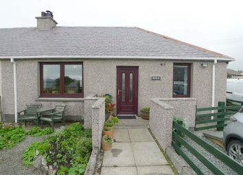 Thumbnail 2 bed semi-detached house for sale in Burnbrae, Breasclete, Isle Of Lewis