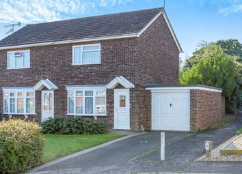 Thumbnail 2 bed semi-detached house for sale in Parkway, Wickham Market, Woodbridge