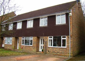 Thumbnail 3 bed terraced house to rent in Charlwood Gardens, Burgess Hill