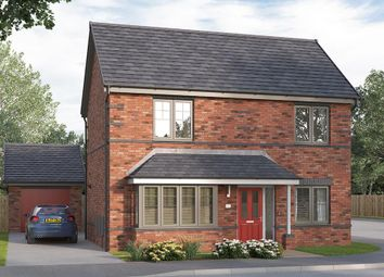 "Thumbnail 4 bed detached house for sale in ""The Kintbury "" at Etwall Road, Mickleover, Derby"