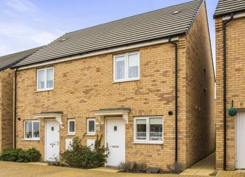 Thumbnail 2 bedroom semi-detached house for sale in Fauna Way, Peterborough, Cambridgeshire