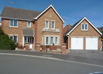 Thumbnail 4 bed detached house for sale in Cilgant Y Meillion, Rhoose, Barry