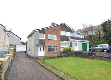 Thumbnail 3 bed semi-detached house for sale in Rosedale, Bishopbriggs, Glasgow, East Dunbartonshire
