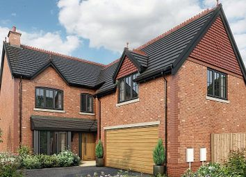 Thumbnail 5 bed detached house for sale in Saltersford Gardens, Macclesfield Road, Holmes Chapel