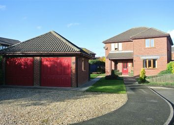 Thumbnail 3 bed detached house for sale in Oosterbeek Close, Bourne, Lincolnshire