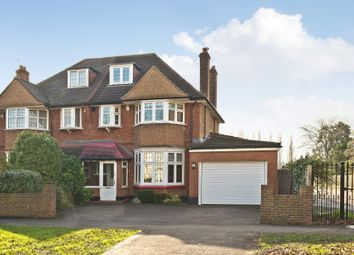 Thumbnail 4 bed semi-detached house for sale in Coombe Lane, London