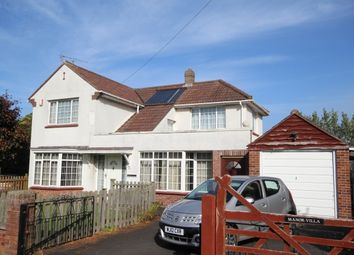 Thumbnail 3 bed detached house for sale in Manor Road, Chedzoy, Bridgwater