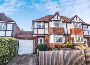 Thumbnail 3 bed semi-detached house for sale in Uplands Road, Oadby, Leicester, Leicestershire