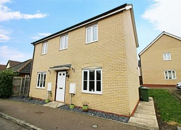 Thumbnail 3 bedroom detached house for sale in Christie Drive, Huntingdon