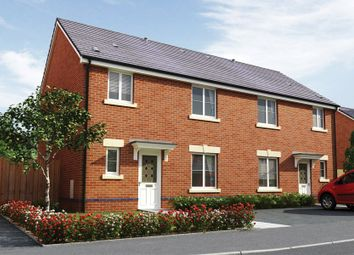 Thumbnail 3 bed semi-detached house for sale in The Litchard, Elms Farm, Llanharry, Pontyclun