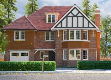 Thumbnail 5 bed detached house for sale in Shaftesbury Road, Woking