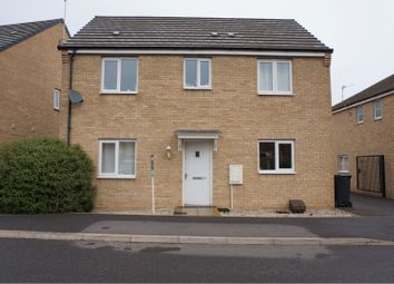 Thumbnail 3 bed detached house to rent in Jupiter Avenue, Peterborough